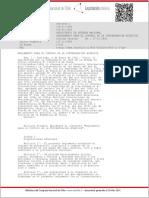 DECRETO 1 de Defensa de 1992 (Reglamento de Control de Contaminación Acuática)