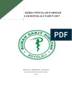 PROGRAM KERJA INSTALASI FARMASI RS HIDAYAH.docx