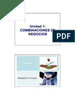 Unidad 1 - Combinaciones de Negocios 2013