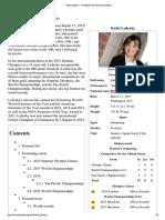 Katie Ledecky - Wikipedia, The Free Encyclopedia