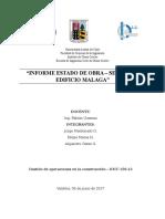 Informe Control de Costos