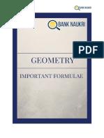 Geometry+Formulae