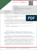 DECRETO 13 de SEGEPRES de 2009 (Reglamento de Información Pública)