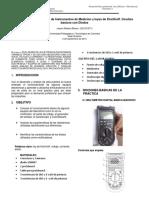 Informe Nº 1 Laboratorio de Instrumentos de Medicion y Leyes de Kirchhoff