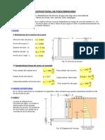 Mathcad - Diseño estructural canal.pdf
