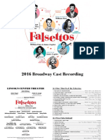 Digital Booklet - Falsettos (2016 Broadway Revival Cast)