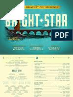 Digital Booklet - Bright Star (Original Broadway Cast Recording)