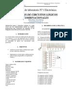 Informe de laboratorio N°1 Electrónica_jeyson Medina