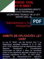 Ley de Servicio Civil.