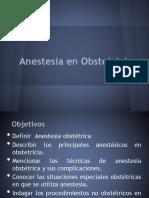 Anestesia en Obstetricia1