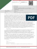 DECRETO 46 de SEGEPRES de 2003 (Norma de Emisión de Residuos Líquidos a Aguas Subterráneas)