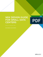 NSX Small DC Design Guide