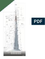 Infographic Dubai Tower