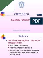 Capitulo10 Manejando Restricciones 31