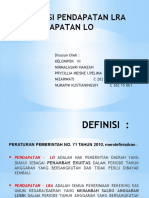 Akuntansi Pendapatan LRA dan Pendapatan LO