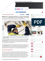 Historia de La NFPA 70E