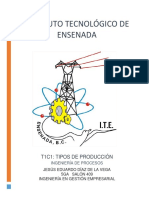 Tipos de Sistemas de Producción T1C1