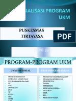 Sosialisasi Program Ukm