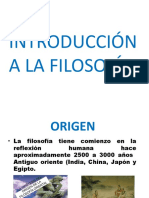 "Introducciã""n a La Filosofã-A Carlos Aldana"