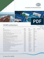 OCIMF Publications