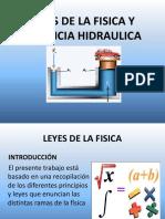 Leyes de La Fisica y Potencia Hidraulica