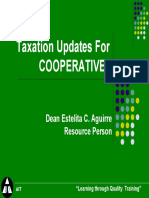 Updates on Taxation for Cooperative.pdf