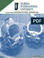 FIU Diving Operations Manual