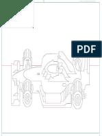Racing Car - Cutting Pattern(2)