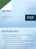 Presentacion GNU LINUX