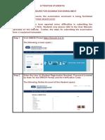 User Manual for Enrollment