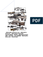 Infographic Weapons Chart