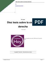 Diez Tesis Sobre La Extrema Derecha a9107
