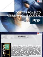 costopromedioponderadodecapital-140411130439-phpapp01.pptx