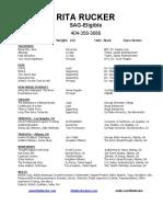 rita rucker - resume - generic