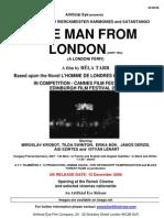 Pressbook Man From London