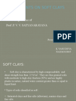 Stabilisation of Soft Clays