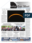 The Daily Tar Heel for August 22, 2017