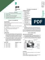 440 Tape - Data Sheet
