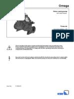 Operating Manual OMEGA 3E