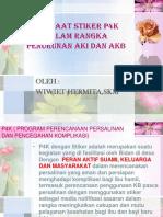 manfaat-stiker-p4k-dalam-rangka-penurunan-aki-dan.pptx