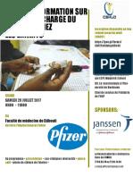 Affiche d'Atelier de formation sur la PEC du diabète en pédiatrie