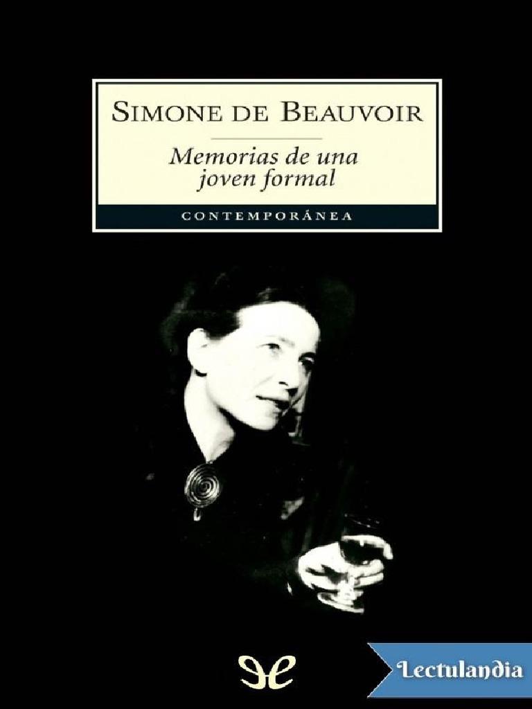 Una De Beauvoir Memorias Formal Simone Joven PZOukXi