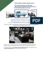 Zinc Air Fuel Cell Generator Advancement