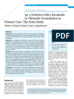 Treatment of Type 2 Dibetes