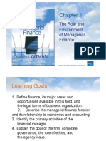 Chapter 1 the Role and Environment of Ma