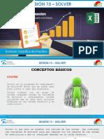 Excel Financiero Sesion 13 Presentacion