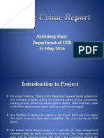 Crime Report Management System