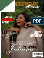 Crazitive African Magazine Issue 9.