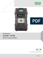 Altair 5x Pid Operating Manual - Es