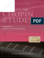 Mastering the Chopin Etudes Sample Chapters